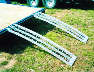 ATV Ramps, Arched Ramp