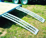 ATV ramps, aluminum ramps, ramps, ramp, ATV ramp, arched ramps, arched ramp, Five Star Manufacturing, Five Star Manufacturing Inc,