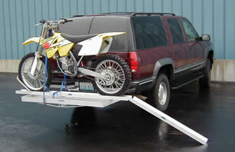 Aluminum Cargo Carrier Adaptor for Motorcycle Hauler