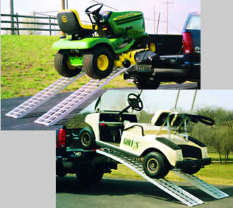 ATV Ramps, Tri-fold Ramps, trifold ramps, Mower and Golf Cart Ramp