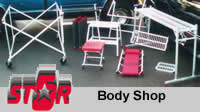 aluminum body shop equipment, aluminum products, body shop equipment, Five Star Manufacturing