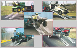 aluminum ramps, arched ramps, arched ramp, ramps, ATV ramps, Five Star Manufacturing