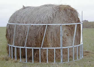 hay ring, hay ring feeder, hay bale feeder, round hay ring feeder, aluminum hay ring feeder, other products, aluminum products