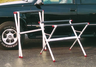 aluminum portable table, aluminum body shop equipment